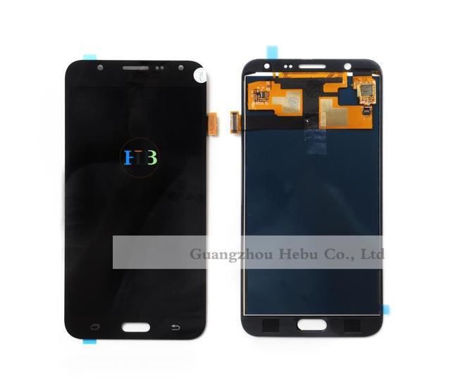 Nova marca para samsung j7 display lcd j7 lcd substituição j7 j700f j700m j700h ecrã táctil lcd digitizer frete grátis