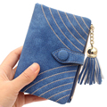 fringed ladies female Men Student Business Credit ID Card Holder Wallet Practical Multifunction lovely cute Lace large capacity