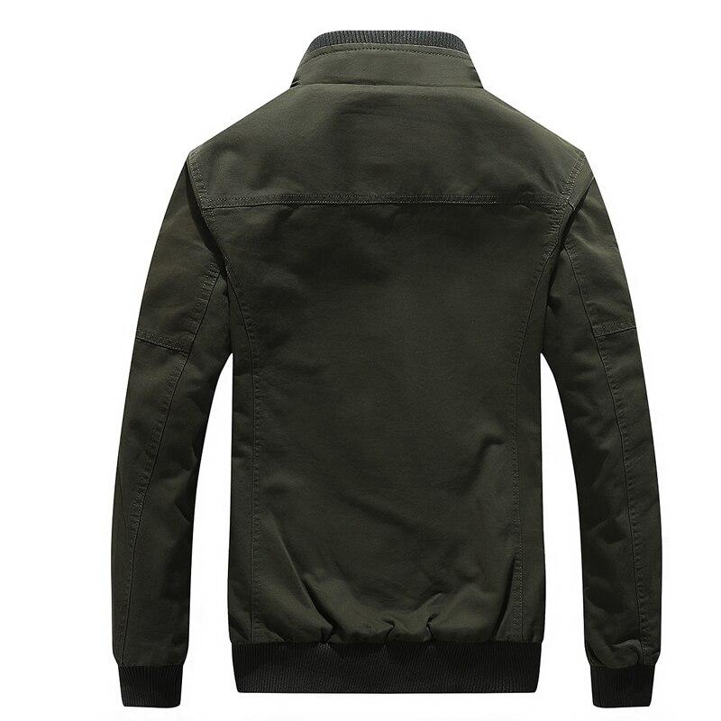 Armée Nouvelle Hiver Vestes Bolubao Solide Vêtements Veste Bomber Marque Militaire green 2018 Cargaison Hommes khaki Black Mode Couleur Homme Casual z6qzvZr