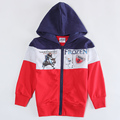 blue red jackets for boys hoodies Children outerwear kids wear Coat winter Windbreaker new year sport suits baby cotton clothing