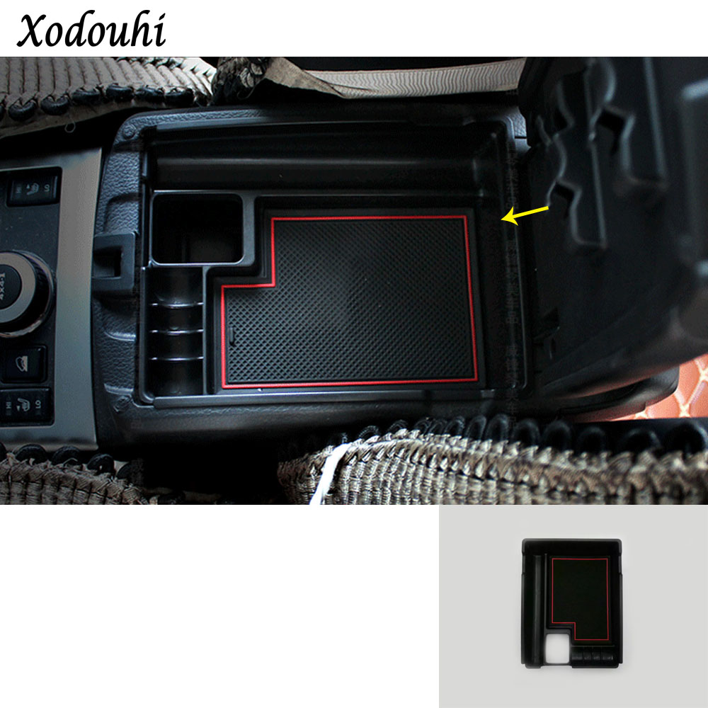 For Nissan X Trail XTrail T32 Rogue 2017 2018 2019 car cover Storage Container Center Console