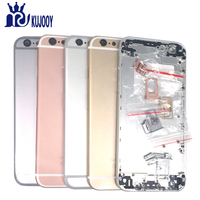 Full Housing For Apple For IPhone 6S 6S Plus Rear Battery Cover Back Door Middle Chassis