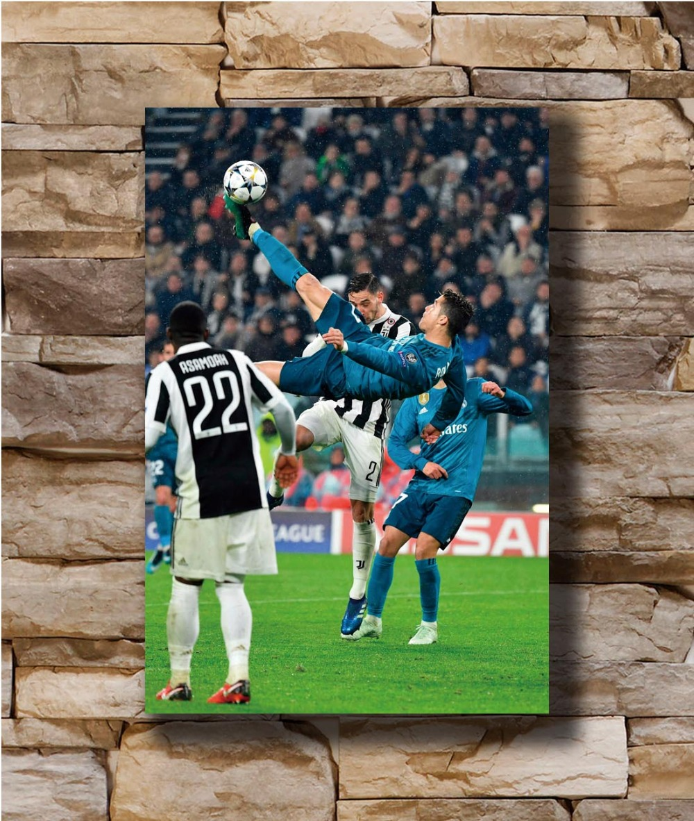 LIONEL MESSI AND CRISTIANO RONALDO GIANT WALL ART PICTURE PRINT PHOTO POSTER