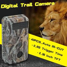 Discount! 0.5-0.6S Digital Infrared Trail Camera Waterproof mms 16MP 1280P Video Night Vision Wildlife Photo Traps gsm S25