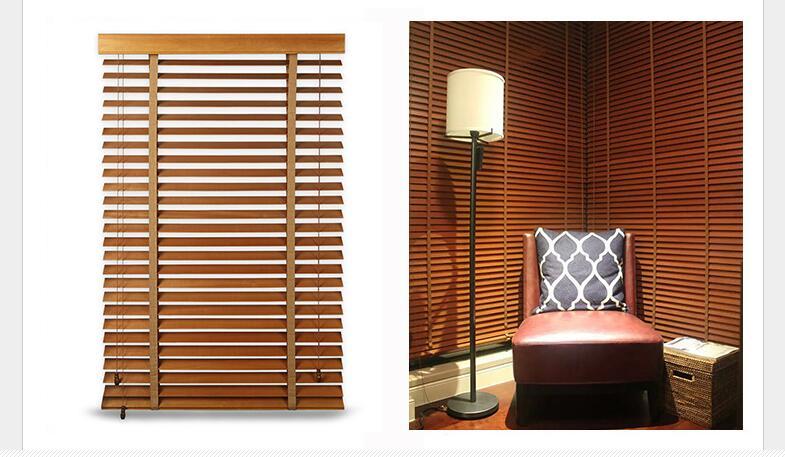 madera persianas venecianas de madera de madera realhecho a medida cm y