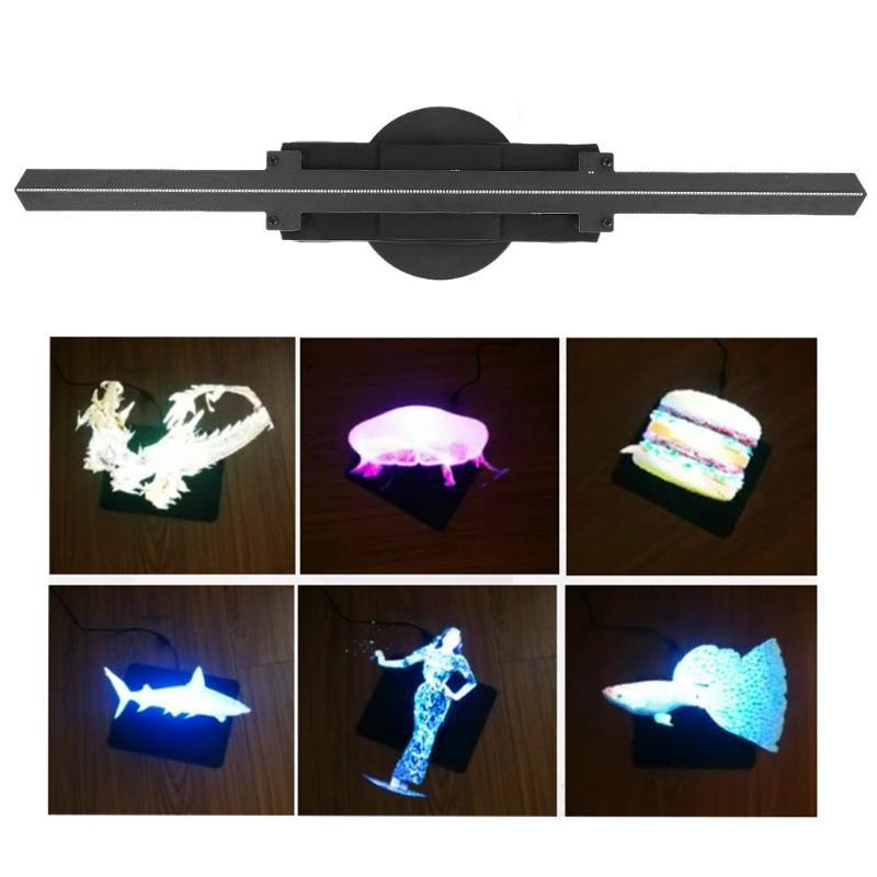 Ogromnie Skup Zmodernizowane 50 Cm 1.64ft Wifi 3D Projektor Holograficzny FB13
