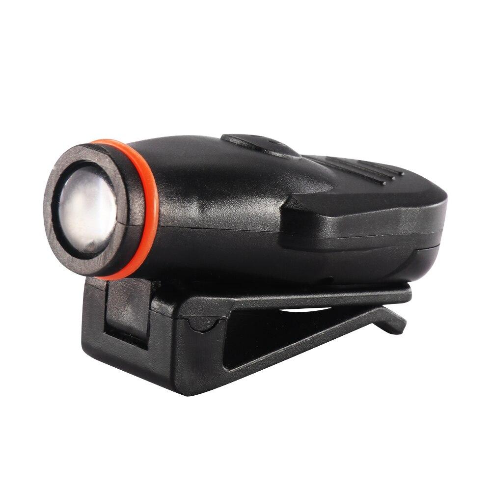 LED Headlamp Cap Light 90 Degree Rotatable Clip-on Hat Light Hands Free Bright Head Lamp Lanterna Camping Cycling