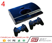 OSTSTICKER Star Skin Decal Cover For PS3 Fat Vinyl Sticker For PlayStation 3 Fat Console Controller