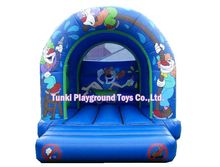 Best quality of PVC kids inflatable bouncers for sale