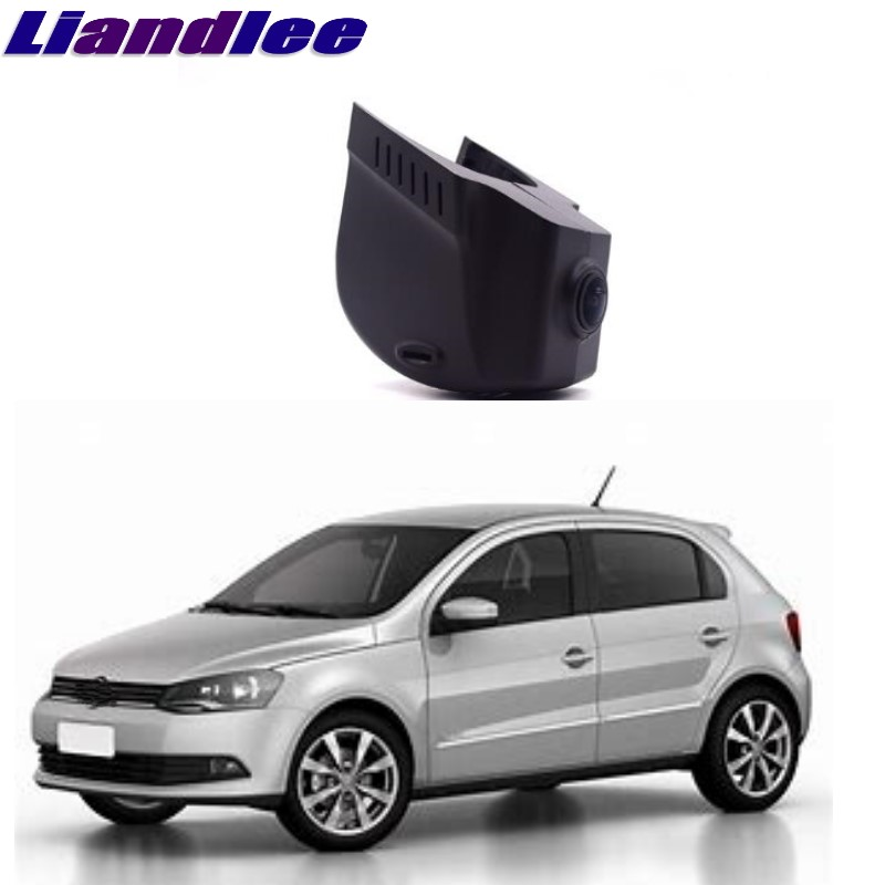 Liandlee For Volkswagen VW Gol / Voyage / Saveiro 2009~2018 Car Black Box WiFi DVR Dash Camera Driving Video Recorder liandlee for volkswagen vw golf mk5 a5 1k mk6 a6 5k mk6 a7 2003 2018 car black box wifi dvr dash camera driving video recorder