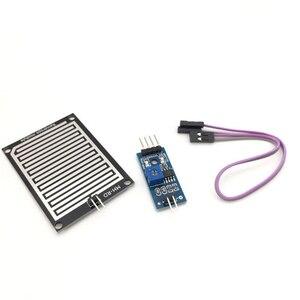 1pcs Chuva Raindrops Detection Sensor De Água Gota de chuva Tempo Módulo de Umidade 3.3-5V Para arduino