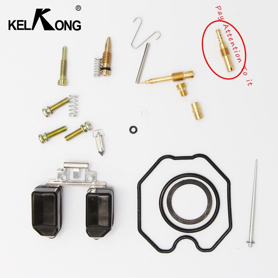 KELKONG Straddle Type Motorcycle Keihin Carburetor PZ 26/27/30 Repair Kits CG 125/150/250 Carb (normal Configuration)
