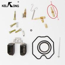 Kelkong straddle tipo motocicleta keihin carburador pz 26/27/30 kits de reparação cg 125/150/250 carb (configuração normal)