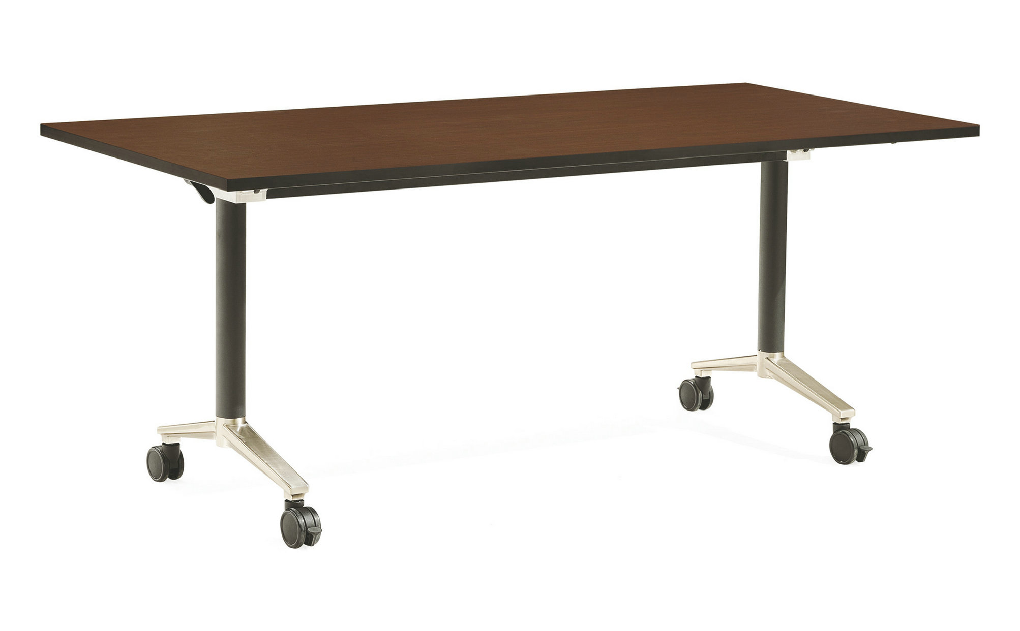 Foldable office table desk long conference folding tables training