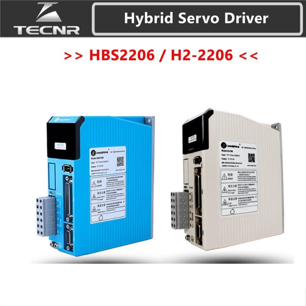 Leadshine HBS2206 H2-2206  AC Hybird Servo Stepper Driver 2phase 0-220VAC 6A  for 86 110mm motorLeadshine HBS2206 H2-2206  AC Hybird Servo Stepper Driver 2phase 0-220VAC 6A  for 86 110mm motor