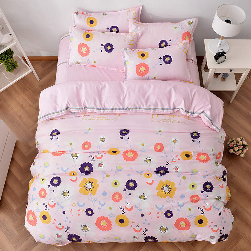 Grey Pink And Blush Comforters For 12 Year Old Girls: Cute Pink Flower Prints Bedding Sets Bedspreads Comforters