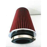 Car Air Filter Caliber 76mm 90mm 101mm Turbo High Flow Racing Cold Air Intake Washable Mushroom