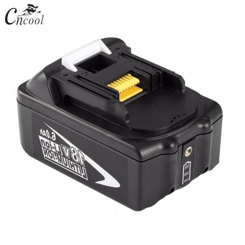 Cncool 18 V 6000 mAh Batterie Rechargeable 6AH Li-Ion Batterie Remplacement Power Tool Batteria Pour MAKITA BL1860 Accumulateurs