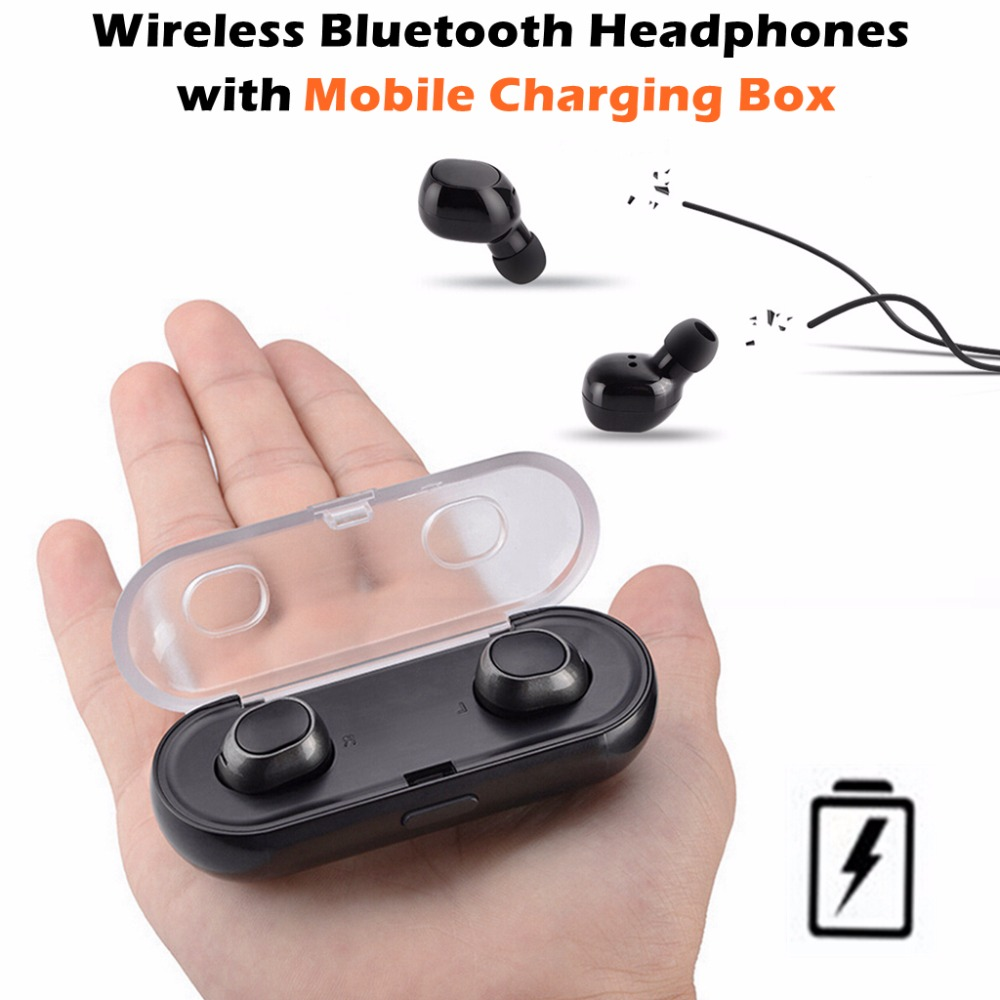 Pro Mini Wireless Bluetooth 4.2 Apt-x Stereo Headphones Nondestructive Music Headset Hands-free Sport for iPhone Samsung Xiaomi remax 2 in1 mini bluetooth 4 0 headphones usb car charger dock wireless car headset bluetooth earphone for iphone 7 6s android