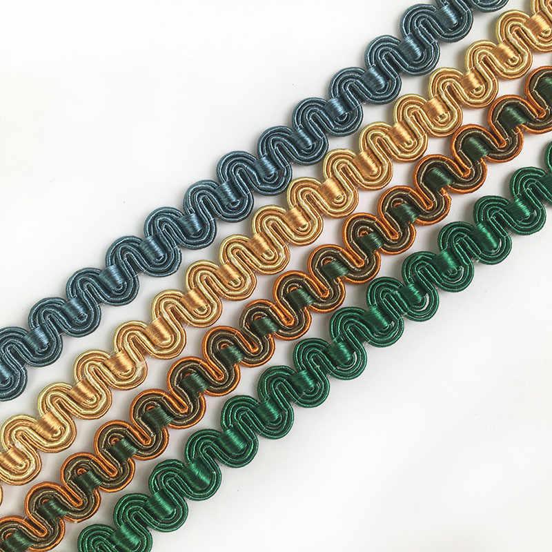 15 метров 1,3 см материал для шитья самодельный маленький кружевной узкий боковой слой аксессуары накладка край занавес диван Чехол для подушки DIY