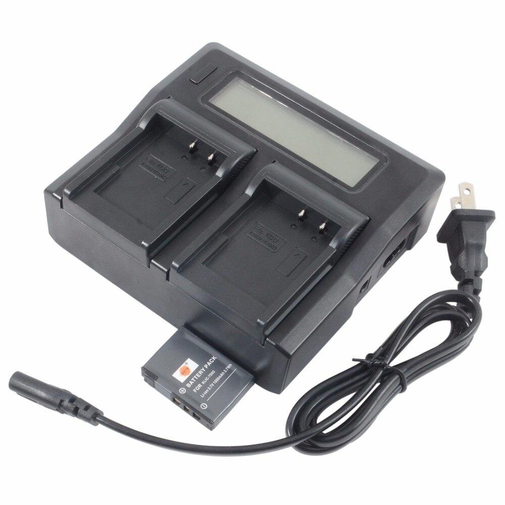 Batterie DSTE KLIC-7002 avec chargeur double 1.5A pour appareil photo numérique intelligent KODAK EasyShare V530 V603