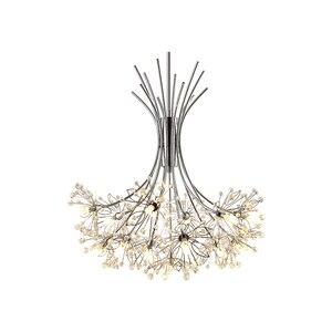Image 5 - Moderne LED lustre éclairage nordique restaurant pendentif lampes chambre luminaires salle à manger cristal suspendus lumières