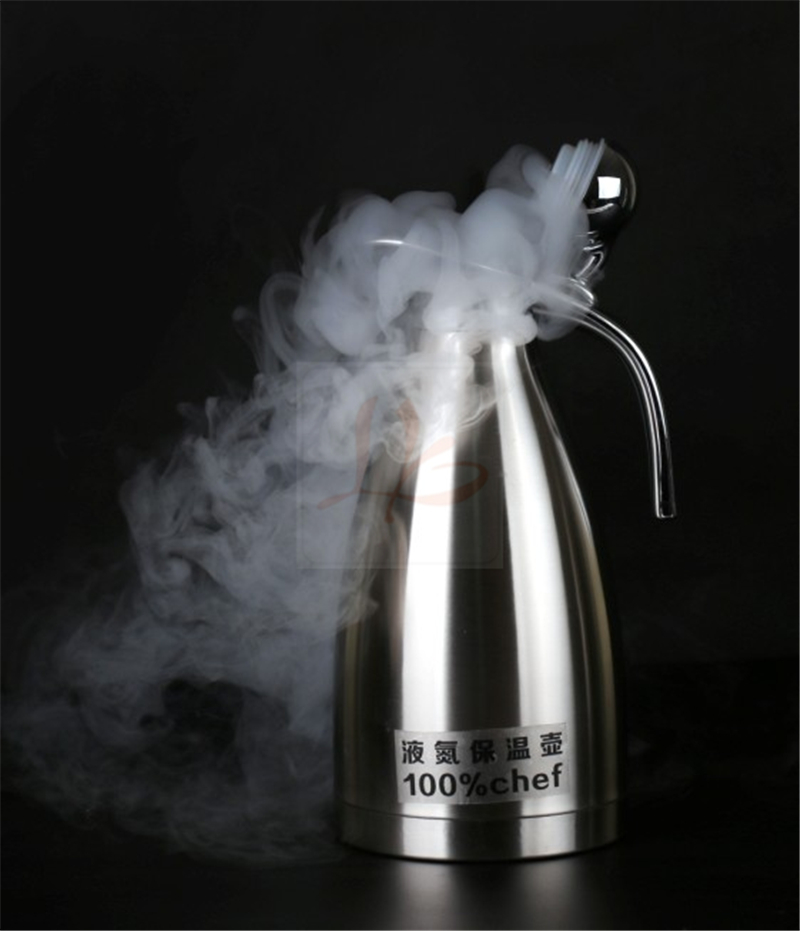 2L liquid nitrogen Super cold-resistant kettle minus 200 degree ly liquid nitrogen super cold resistant kettle 2l