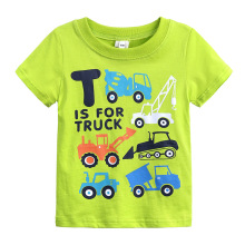цены New Summer Newborn Children T-shirts for Boys Clothes Cartoon Car Infantis Brand Kids T-shirts Baby Boys T shirt