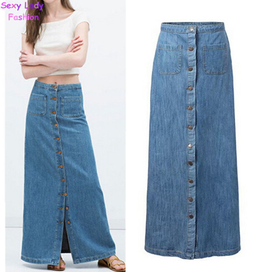 Shop for long blue jean skirts online at Target. Free shipping on purchases over $