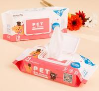 Wholesale 18 20cm Pet Wet Wipes Cat Grooming Supplies Dog Cleaning Wet Tissues