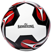 New Good High Quality Size 5 Adults Competition Soft Leather Wear Outdoor Football Standard Soccer Ball Training