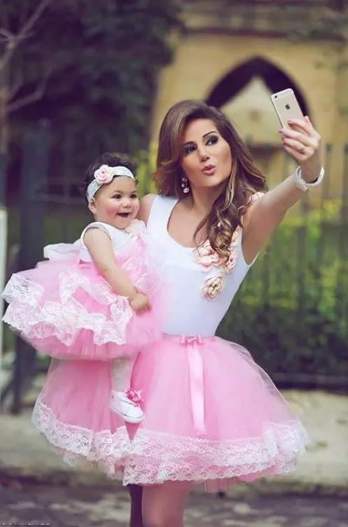 2017 New Purple Pink Toddler Girls Pageant Dresses Sheer Crew Neck Lace Appliques Ball G ...