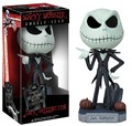 Funko the nightmare before christmas jack wacky wobbler bobble head pvc action figure toy boneca coleção