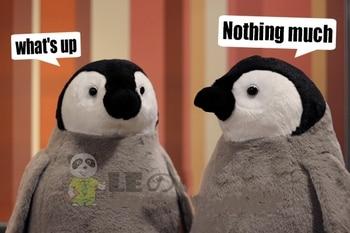 Antarctic penguin doll penguin cub plush toy good quality penguin pillow 30cm/55cm фото