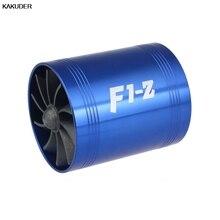 F1-Z двойная турбина турбонагнетатель воздуха впускной газ топлива экономии вентилятор автомобиля супер зарядное устройство#20