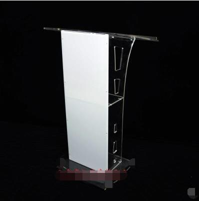 4S Shop Platform Acrylic Podium Crystal Speech Desk Guest Desk Welcome Desk Reception Desk Hotel Desk