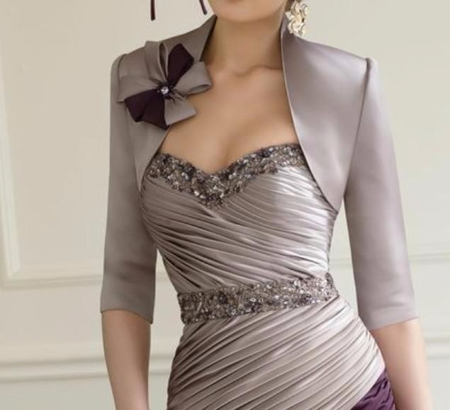 Silver-Purple-2016-Mother-Of-The-Bride-Dresses-Sheath-Knee-Length-Beaded-Evening-Dresses-Mother-Dresses (1)