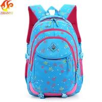 ZIRANYU backpack for girls Children Backpacks Primary School Bags For Students Super Light Kids Backpacks Waterproof Schoolbags School Bags