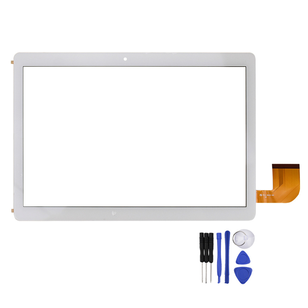 New For 10.1inch <font><b>Teclast</b></font>/ <font><b>A10S</b></font> A10H / FPCA-10A53-V01 Tablet PC Digitizer Touch <font><b>Screen</b></font> Panel Glass Sensor Replacement part image