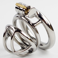 Super Small Chastity Cage Stainless Steel Penis Bondage Device Male Chastity Devices Cock Cages For Men