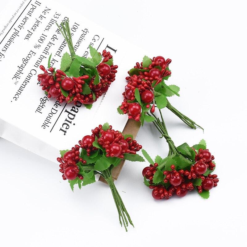 10 шт. жемчужные цветы, Подарочная коробка «сделай сам», рождественские украшения для дома, свадебные аксессуары, искусственные цветы