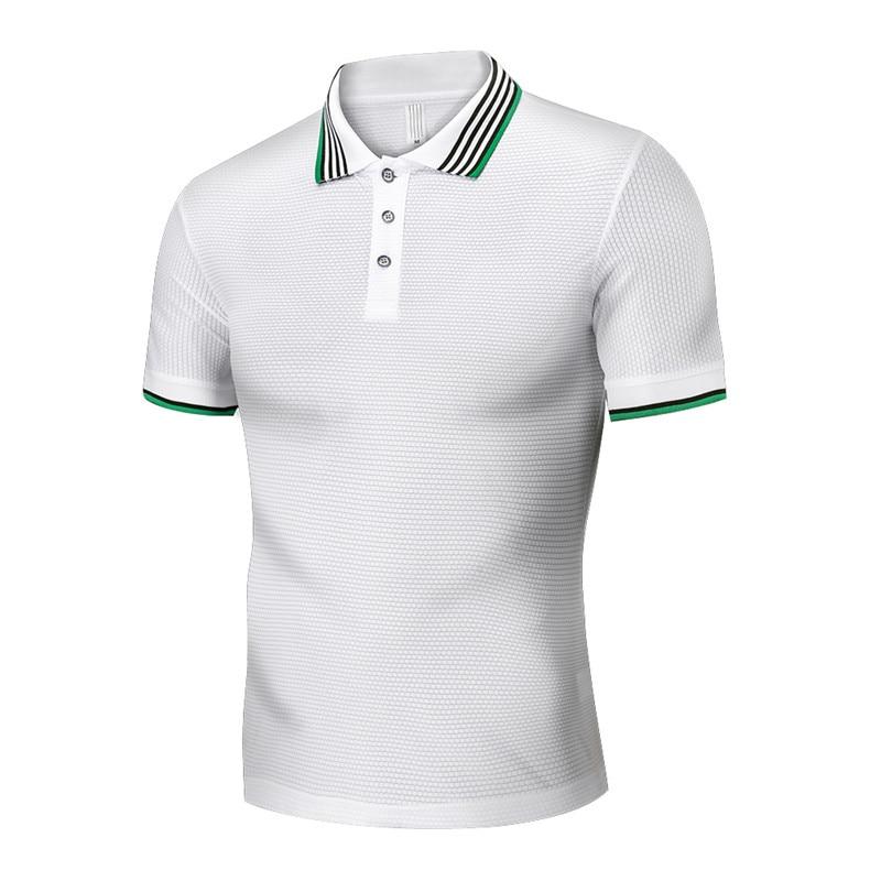 Polo Shirt Mens Solid Color Shirts