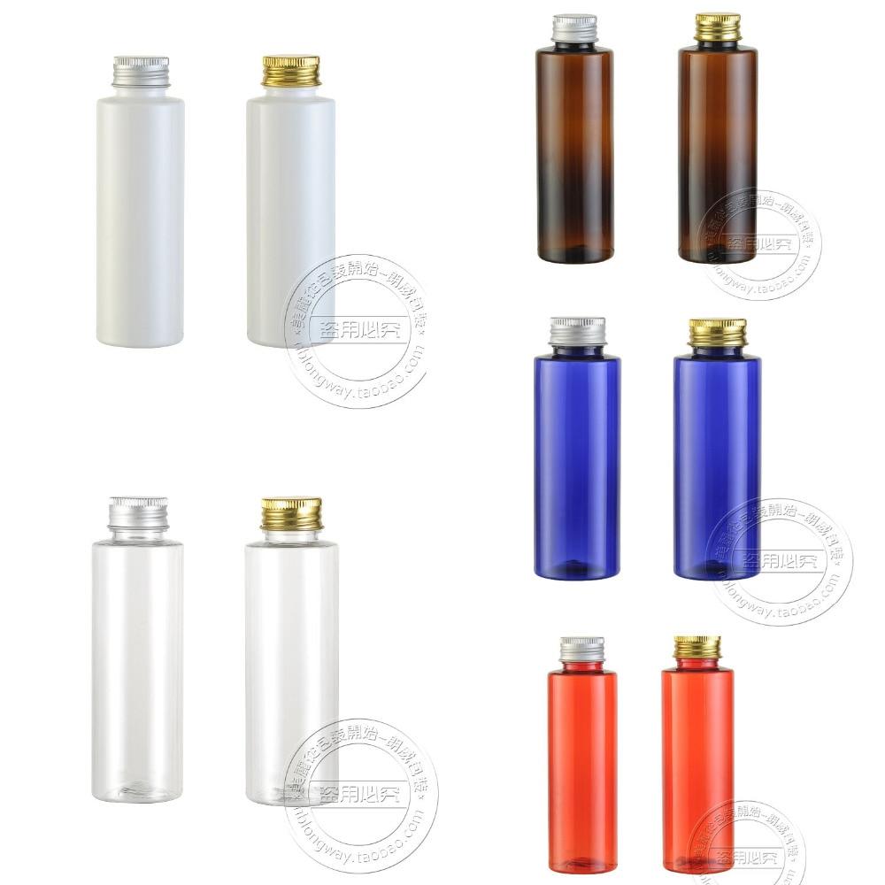 Beauty & Health Aluminum Cover 24 Caliber Bottle,bottle Free Shipping Capacity 100ml 30pcs/lot Transparent Flat Shoulder Aluminum Cap Bottles