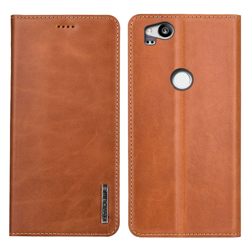 Case For Google Pixel 2 Luxury Genuine Leather Flip Wallet Cover For Google Pixel 2 5.0Phone Cases