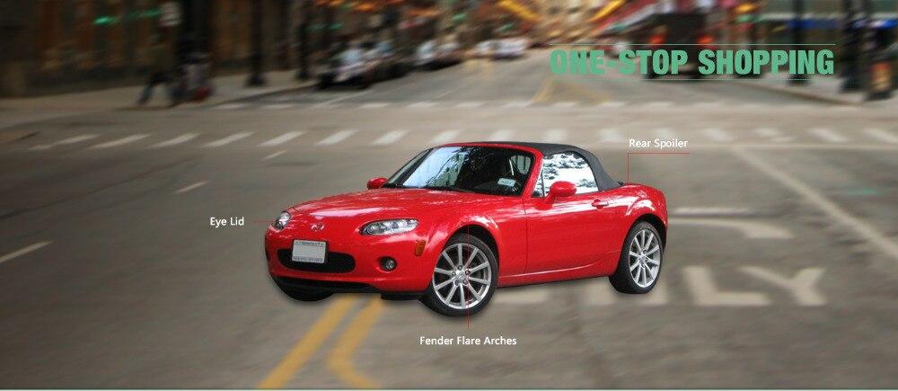 US $295 0  For MX5 NC Portion Carbon Fiber Rear Diffuser With Centre Flap  3pcs NCEC Miata GVN Style Fiberglass Bumper Lip Car Accessories-in Body  Kits