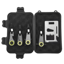Five-piece outdoor EDC multi-function tool, survival treasure box, wild first aid kit, screwdriver, bott
