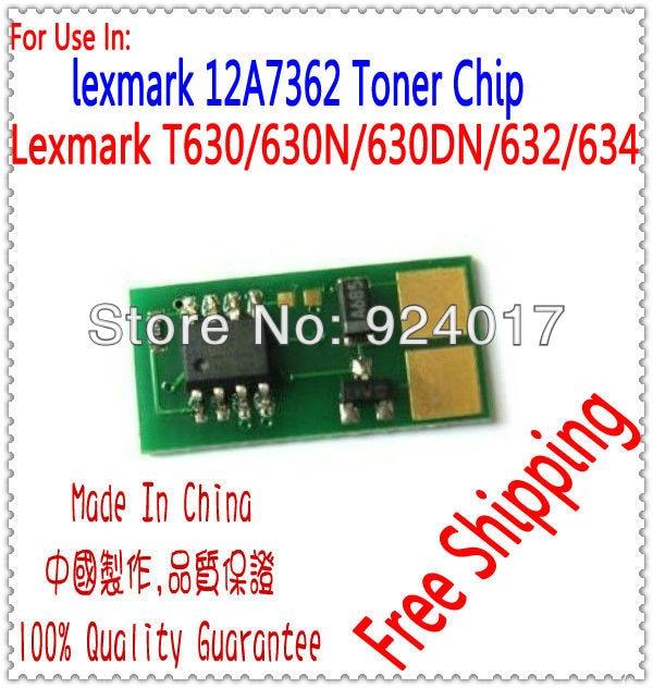 Reset Tonerspan Für Lexmark T630 T630N T630DN T630DTN Drucker, Für Lexmark 12A7362...