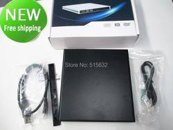 Новинка! USB 3.0 super slim sata 12.7 мм Blu-Ray DVD компакт-дисков usb внешний корпус