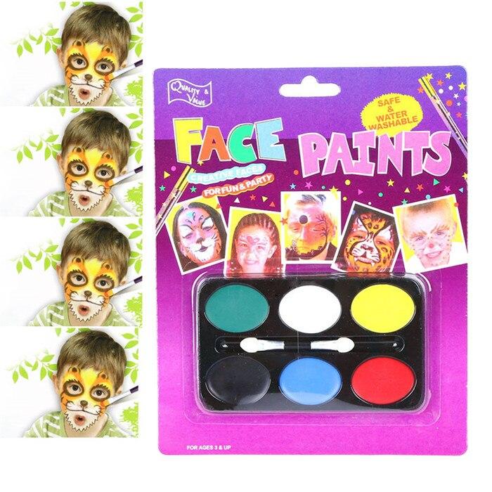 Y 1 шт. краска для тела прекрасный детский фестиваль краска для лица ing Craft Kit Прямая поставка - Цвет: a