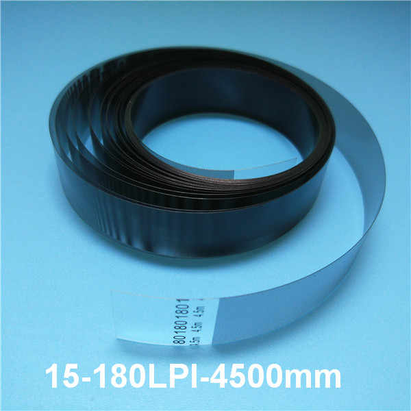 Digital Printer Leopard Flora Allwin Jhf Vista Zhongye Raster Encoder Strip 180 Dpi untuk Konica 512 Printhead 15-180lpi-4500mm